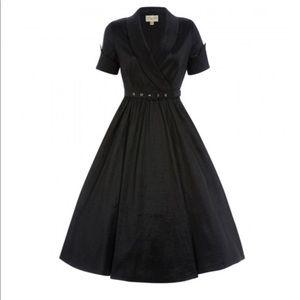 Lindy Bop Vanda Dress Womens Small UK 10 1950s